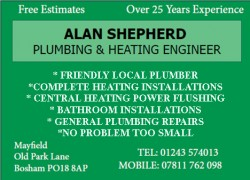 Alan Shepherd – Heating and Plumbing Engineer