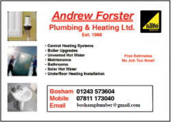 Andrew Forster Plumbing and Heating Ltd