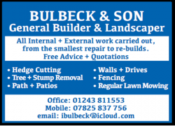 Bulbeck & Son – General Builder & Landscaper