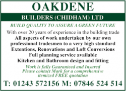 Oakdene Builders (Chidham) Ltd