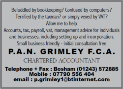 P.A.N Grimley F.C.A Chartered Accountant