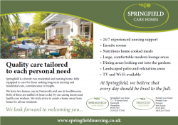 Springfield Care Homes
