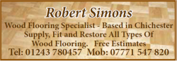 Robert Simons – Wood Flooring Specialist