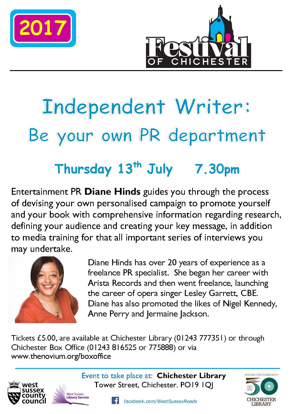 Adult - Independent Writer event