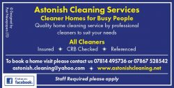 Astonish Cleaning Service