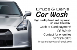 Bruce and Ben's Car Wash